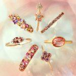 春です♥宝石箱のような桜色のジュエリーを頑張った自分へのご褒美に♪